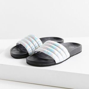 Brand new with tag Metallic slides